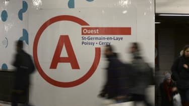 La circulation est fortement ralentie sur le RER A ce mardi.