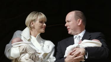 Les jumeaux du prince Albert de Monaco et de son épouse Charlene: la princesse Gabriella et son frère le prince héréditaire Jacques.