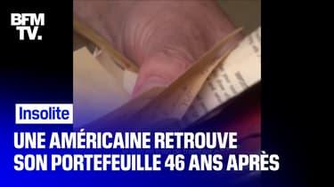 Une américaine retrouve son portefeuille 46 ans après