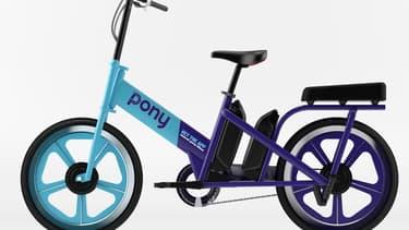 Ce vélo deux places, le Double Pony, va être proposé dans la ville de Grenoble dès la rentrée.