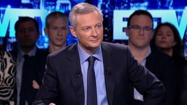 Bruno Le Maire, député de l'Eure et candidat à la présidence de l'UMP.