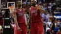 Dwayne Wade et LeBron James