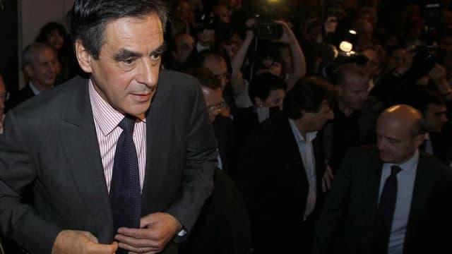 """Aussi peu disert que Jean-François Copé est prolixe, aussi discret qu'est expansif son adversaire pour la présidence de l'UMP, François Fillon, """"le numéro deux"""", brigue désormais les premiers rôles avec l'ambition d'incarner la reconquête en 2017. /Photo"""