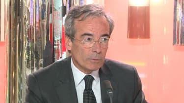 Frédéric Saint-Geours, pésident de l'UIMM, était sur le plateau du Grand Journal d'Hedwige Chevrillon le 10 avril.