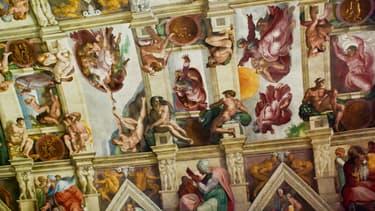 Le plafond de la Chapelle Sixtine (image d'illustration)