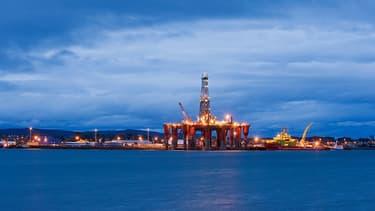 L'incertitude sur le partage de la manne pétrolière (ici une plateforme en Mer du Nord) en cas d'indépendance de l'Ecosse inquiète les marchés.