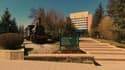 L'université d'Eskisehir où a eu lieu la fusillade.
