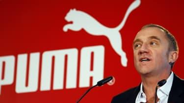 François-Henri Pinault en 2007 lors du rachat de Puma par PPR (devenu Kering).