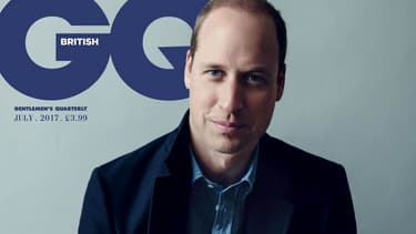 Le prince William en couverture de QG