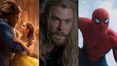 """""""La Belle et la bête"""", """"Thor: Ragnarok"""", """"Spider-Man: Homecoming""""; trois des grands succès Disney de l'année 2017"""