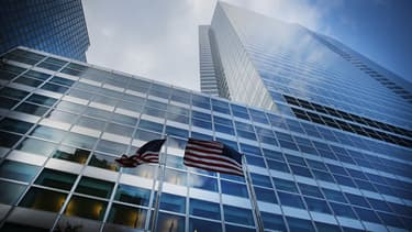 Le siège de Goldman Sachs à Manhattan aux États-Unis.