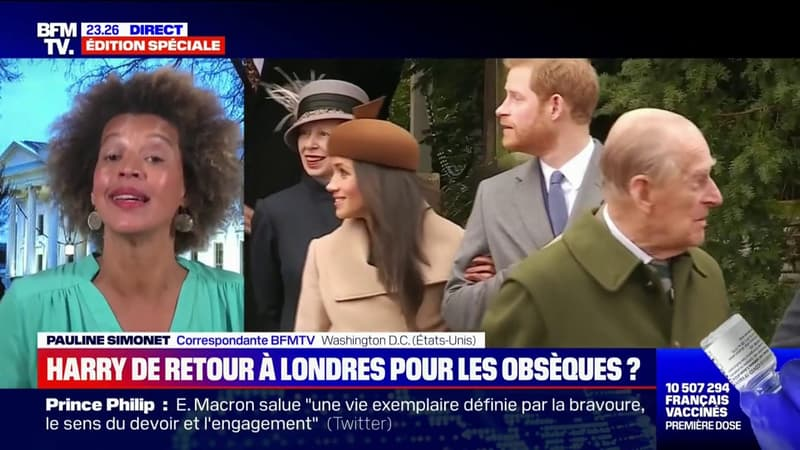 Selon un proche de la famille, Harry souhaiterait se rendre aux obsèques du prince Philip