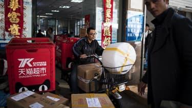Les internautes en Chine se sont précipités pour profiter des rabais offerts à l'occasion de cet événement lancé en 2009 par Alibaba, géant chinois de la vente sur internet.