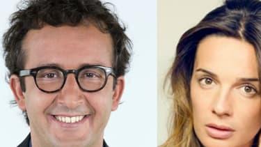 Cyrille Eldin, Ornella Fleury et Laurent Ruquier