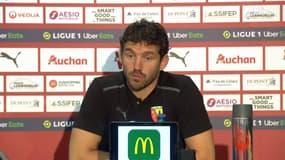 """Lens 1-0 Lille : Leca retient """"le succès 15 ans après"""" et pas """"les chamailleries entre supporters"""""""