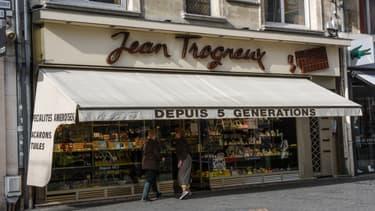 Une chocolaterie Jean Trogneux, à Amiens.