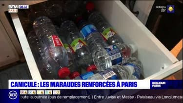 Fortes chaleurs: les maraudes renforcées à Paris