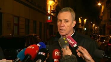 Le procureur de Paris François Molins lors d'un point presse à Paris samedi 12 mai