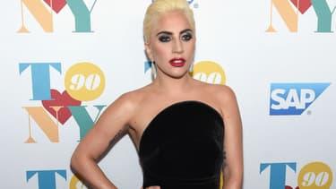 Lady Gaga à New York pour le 90ème anniversaire de Tony Bennett, en 2016 -