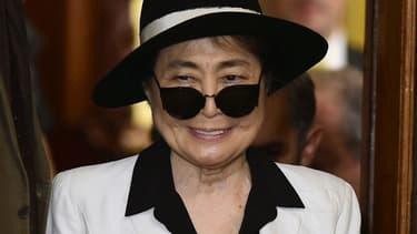 L'artiste Yoko Ono, veuve de John Lennon