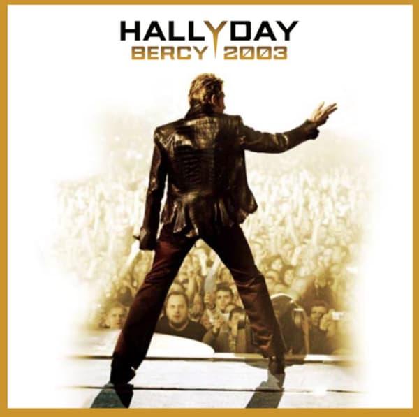 """Bercy 2003"", un live inédit de Johnny Hallyday"