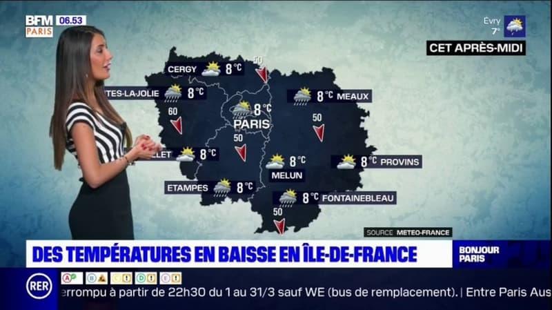 Météo Paris Ile-de-France: des averses et du froid pour ce mercredi