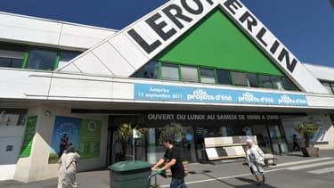 Leroy-Merlin est l'enseigne préférée des Français.