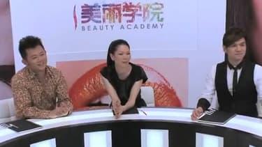 """""""The Beauty Academy"""", sorte de """"Nouvelle Star"""" du maquillage, a été lancée par le Français Alexis de Gemini"""