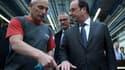 François Hollande a rendu visite à des salariés de MBDA.