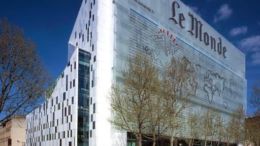 Le siège du journal, à Paris XIIIeme