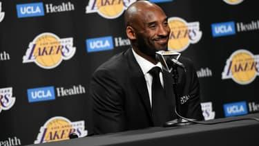 Kobe Bryant à Los Angeles, le 18 décembre 2017