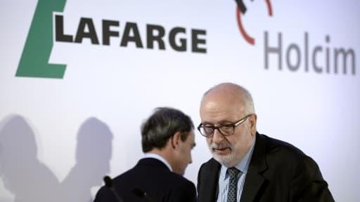 La fusion Lafarge-Holcim fera du groupe un géant du secteur.
