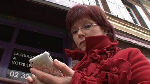 Nelly Garsault, l'une des salariées licenciées