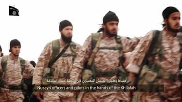 Des combattants de Daesh en Syrie