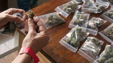 L'application Eaze permet de se faire livrer du cannabis aux Etats-Unis (photo d'illustration).