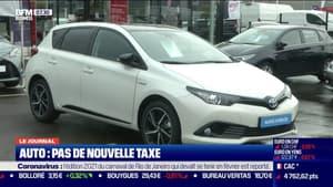 Auto: la taxe sur le poids des véhicules abandonnée