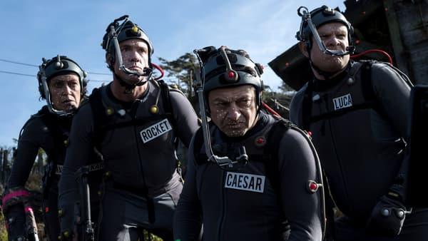 """Andy Serkis sur le plateau de tournage de """"La Planète des Singes - Suprématie"""""""