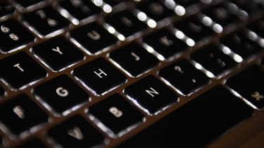 Un clavier d'ordinateur (photo d'illustration) -