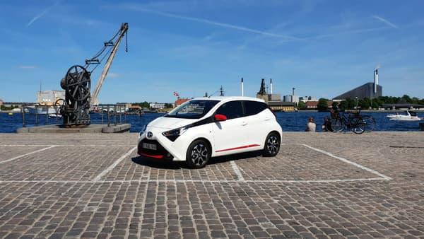 Notre Toyota Aygo 2018 testée dans et aux alentours de Copenhague, capitale du Danemark... et du vélo!
