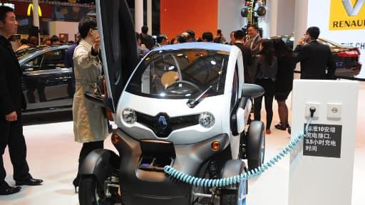 Renault était déjà présent au salon de Shanghai en avril 2013.