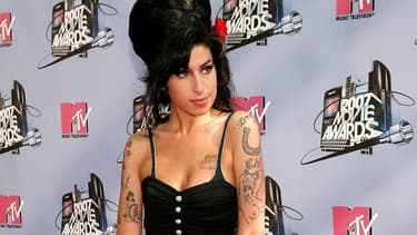 Amy Winehouse aux MTV Movie Awards en 2007