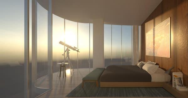 Le promoteur propose des appartements allant du studio au trois pièces.