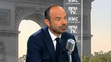 Le Premier ministre Edouard Philippe était lm'invité de BFMTV et RMC ce mardi.