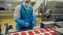 Une usine de production de viande dans l'Aude en juin 2011.