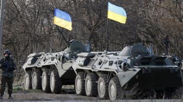 Les chars ukrainiens ont mené des opérations mardi