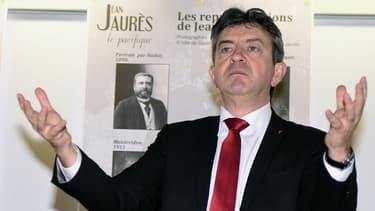 Jean-Luc Mélenchon à Castres.