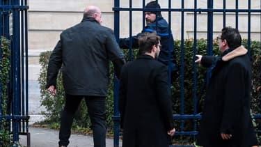 Willy Bardon le 21 novembre dernier à son arrivée au tribunal d'Amiens