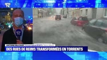 Des rues de Reims transformées en torrents - 04/06