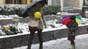 Une tempête de neige s'est abattue samedi sur le nord-est très peuplé des Etats-Unis (comme ici, à New York), entraînant des pannes d'électricité et des perturbations du trafic aérien dans certaines zones. /Photo prise le 29 octobre 2011/REUTERS/Jessica R