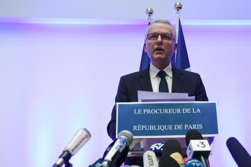 Le procureur de la République de Paris, Rémy Heitz, lors d'une conférence de presse à Strasbourg, le 12 décembre 2018